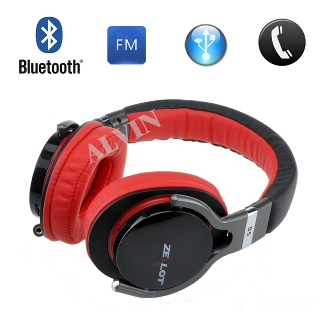 ZEALOT wireless headphone, high quality stereo, support