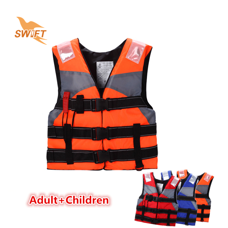 Top Quality Kids Foam Life Vest With Lifesaving Whistle Reflective Tape Cheap Life Jacket For Fishing Swimming Drifting(China (Mainland))