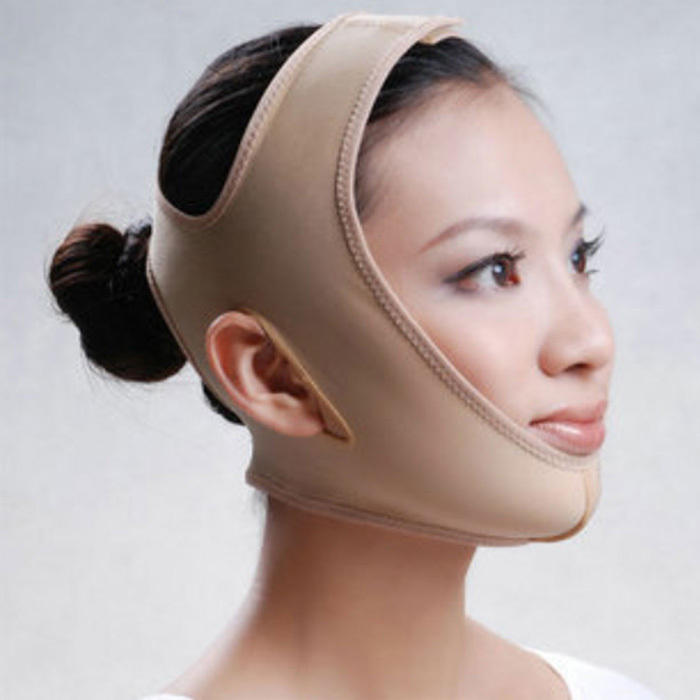 Delicate Facial Slimming Bandage Skin Care Belt Shape And Lift Reduce Double Chin Face Mask Face Thining Band(China (Mainland))