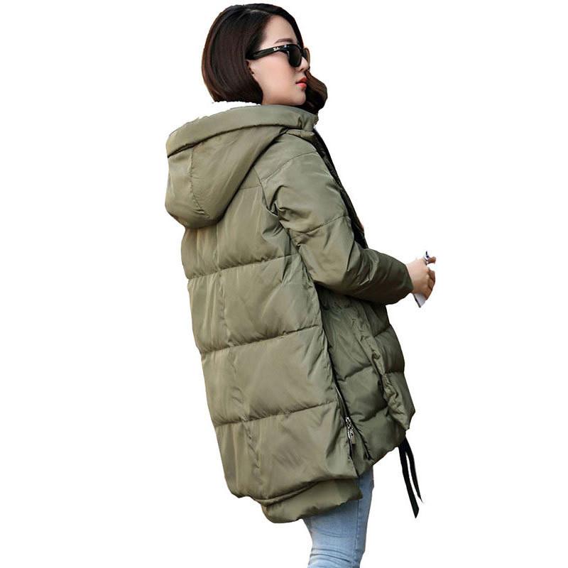 Free Shipping 2016 New Aarrivals Fashional Women jacket Hoody Long Style Warm Winter Coat Women Plus Size M~XXXL(China (Mainland))