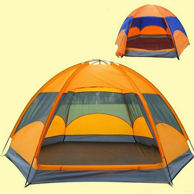 1x 240 210 135cm Quality mongolian yurt tent 3 4 person rainproof outdoor survival hiking hunting