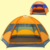 1x 240*210*135cm Quality mongolian yurt tent 3-4 person rainproof outdoor survival hiking hunting fishing tourist emergency tent
