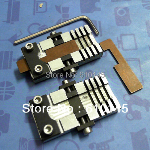 a pair vertical key chucking tools for special key key clamp for car and special hard