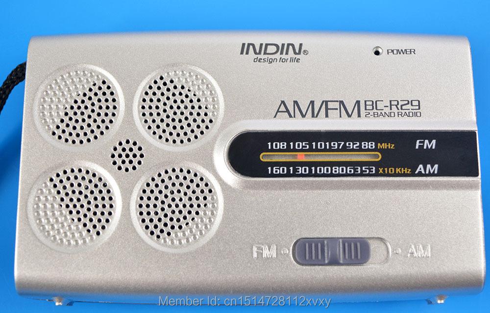 BC R29 Radio Receiver Mini AM FM World Universal Antenna High Quality Built in Speaker