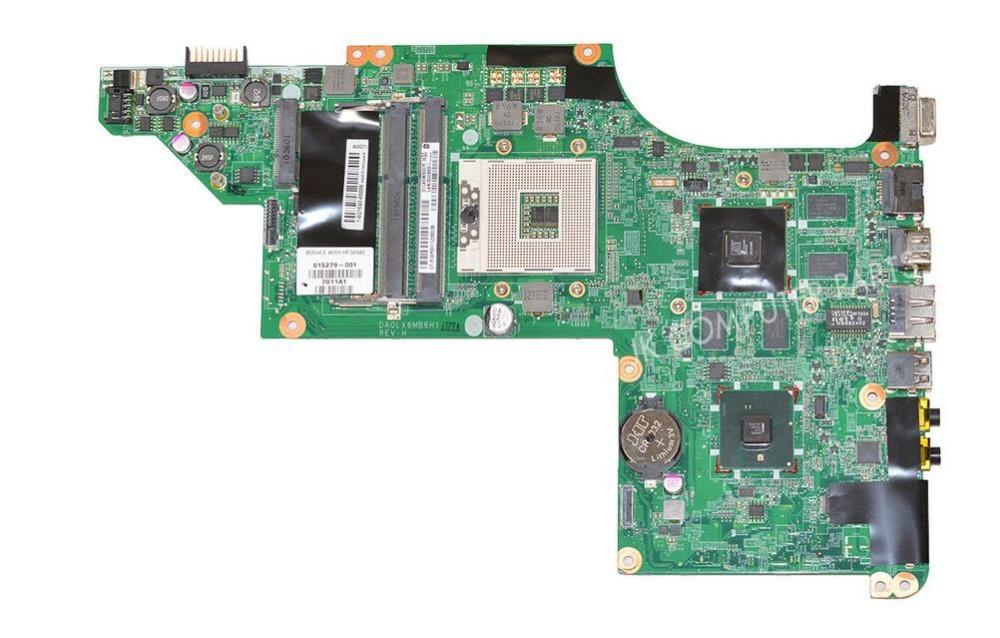 615279-001 FOR HP DV6 DV6-3000 Laptop Motherboard DA0LX6MB6H1 REV:H hm55 5650/1G 100% tested(China (Mainland))
