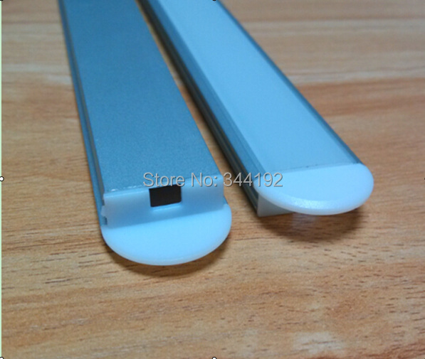 Free Shipping 2000mmX21mmX8mm 2m aluminum extrusion profile with PC cover for led strips, 20pcs (40 meters) a lot, 2m per piece(China (Mainland))