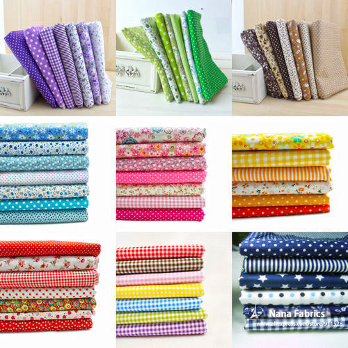 Buy 50 sets wholesale 100 cotton for Cheap sewing fabric
