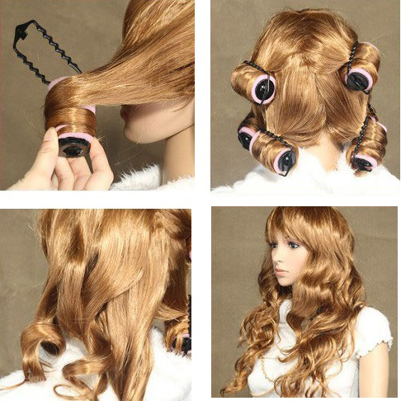 one piece Sponge curlers curler magic hair roller hair styling tools curling wand curl styler rollers M811(China (Mainland))