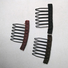 Wig Accessories 6 Tooth Hair Wig Combs and Clips For Wig Cap(China (Mainland))
