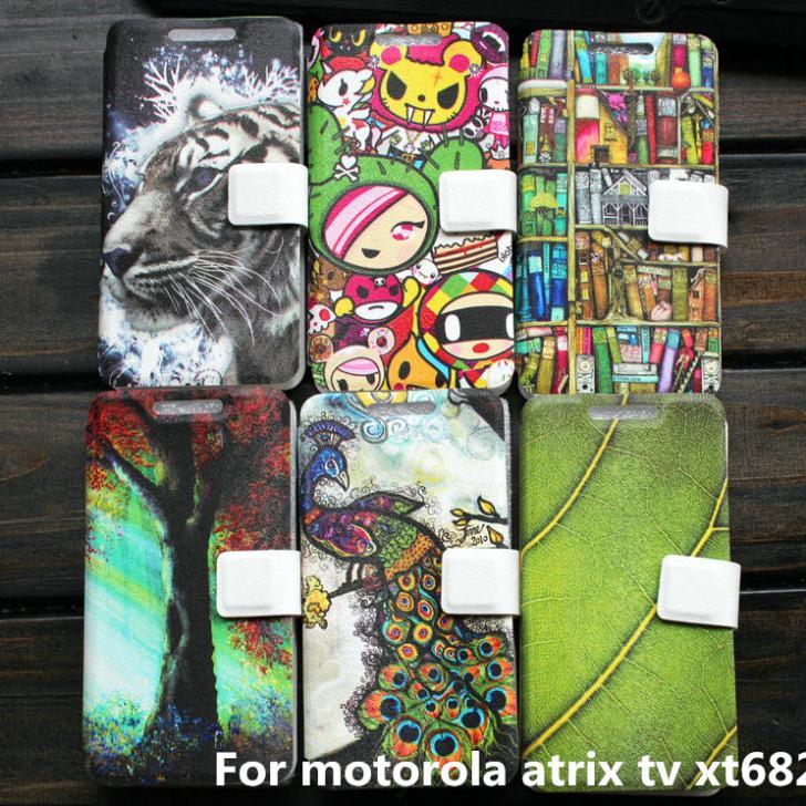 Cover case For motorola atrix tv xt682 case cover gift(China (Mainland))