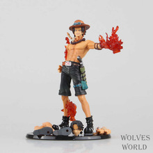Anime One Piece Fire Fist Ace – Portgas D Ace Boxed PVC Action Figure Collection Model Toy Gift 26CM AOP031