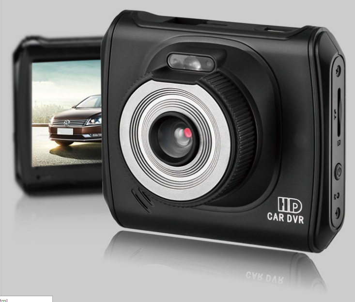 2inch TFT LCD display FCWS LDWS car dvr with monition detect car recorder(China (Mainland))