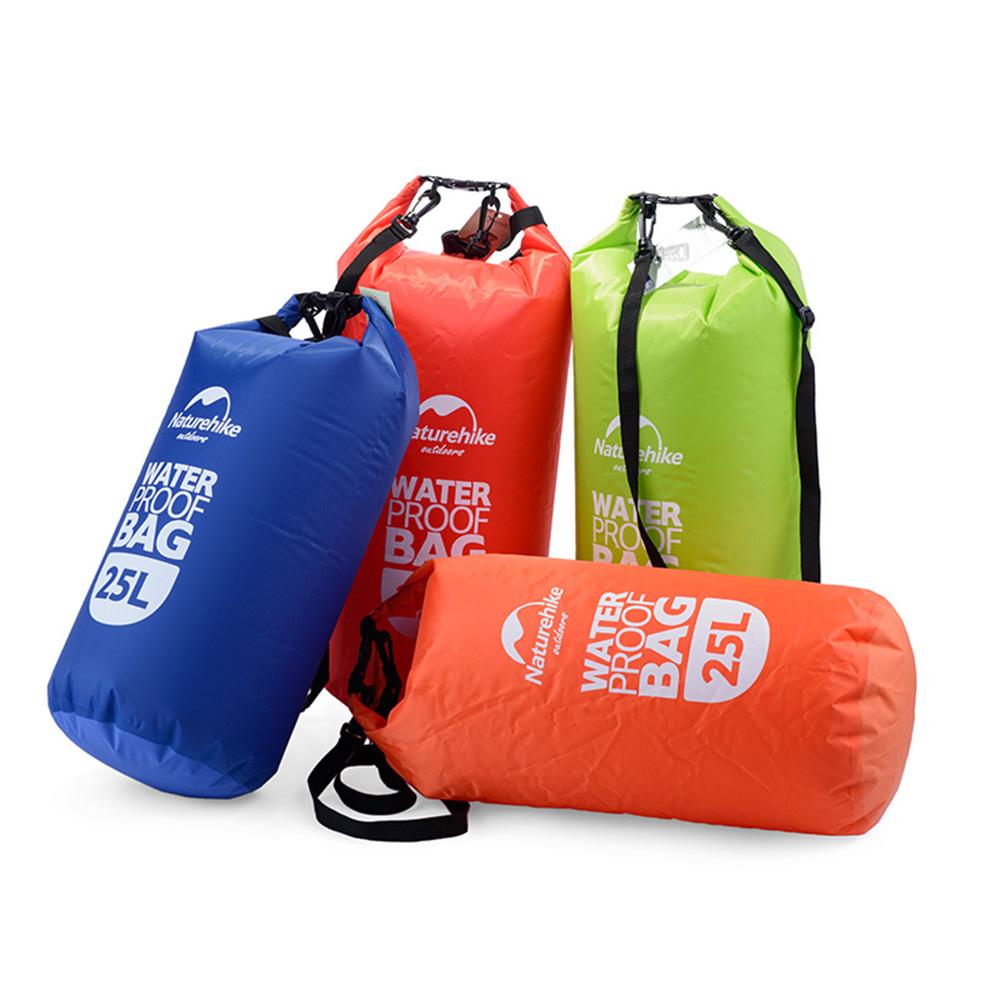 25L Ultralight Outdoor Travel High Strength Fabric Rafting Waterproof Dry Bag Swimming Green/Red/Blue/Orange(China (Mainland))