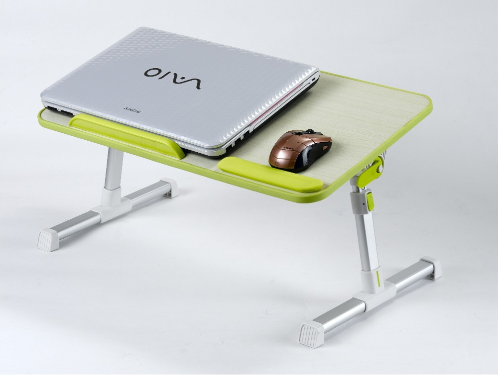 Bed notebook computer desk folding table laptop home gift(China (Mainland))