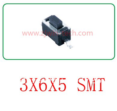 Free shipping  3X6X5mm 100pcs/lot 2 pin light touch button (SMD mounting surface)momentary tact switch<br><br>Aliexpress