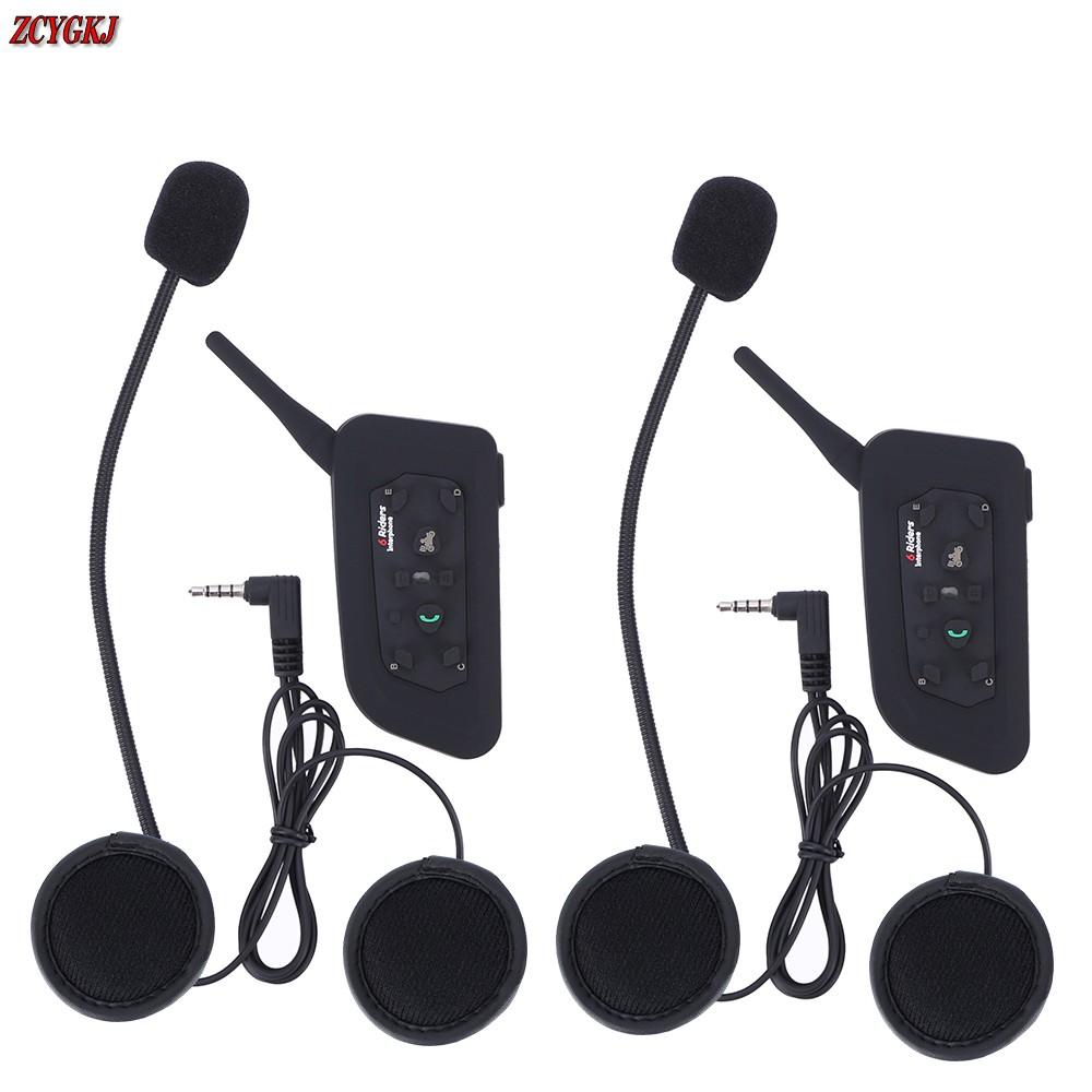 Version!1200M V6 Helmet Intercom 6 Riders Motorcycle Bluetooth Headset walkie talkie Motorcycling Helmet Headphones(China (Mainland))