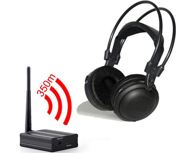Professional Silent Disco compete system wireless headphones – Quiet Clubbing Party Bundle (100 Headphones + 3 Transmitters)