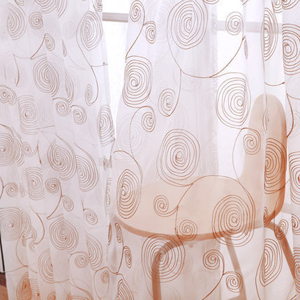 (270cm high) 2015 High quality embroidery curtain white pastoral curtains for the bedroom short curtains for living room(China (Mainland))