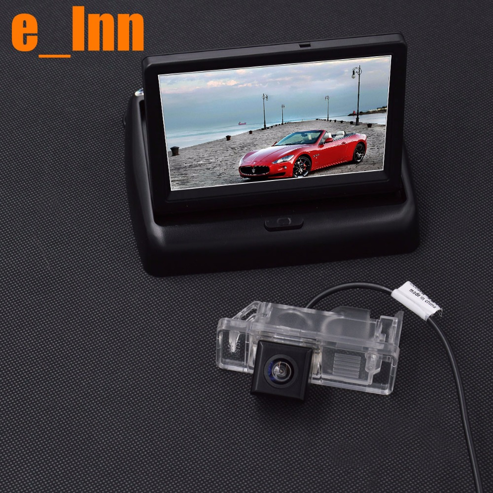 4.3 Inch LCD TFT Rearview Monitor Screen+ Car Rear View Camera for Benz Viano Vito Sprinter(China (Mainland))