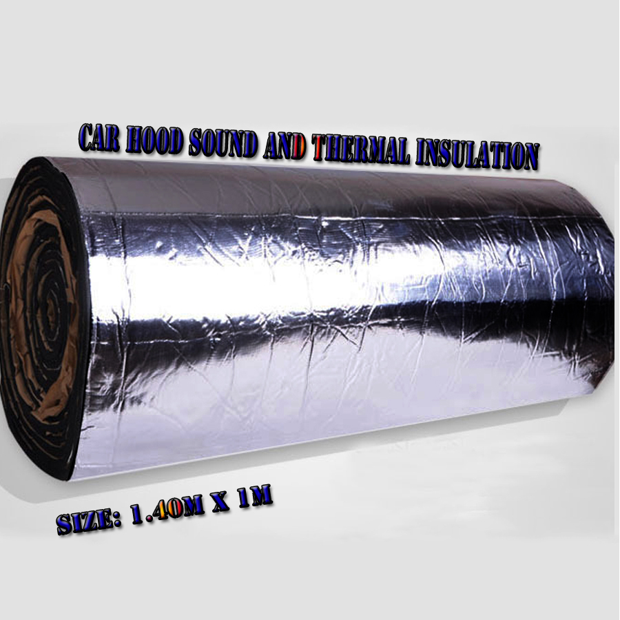 Car stickers fiberglass sound and thermal insulation for Sound fiberglass insulation