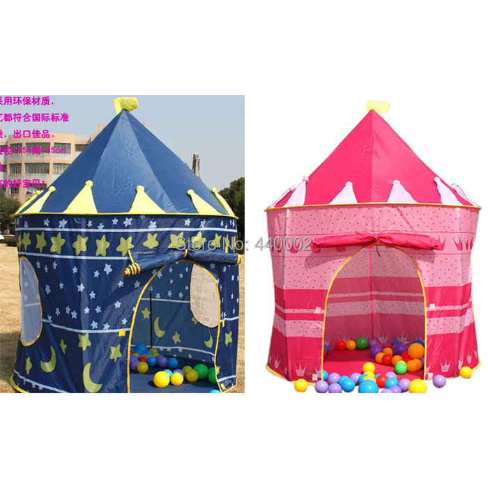 Retail Prince and Princess Palace Castle Children Playing Indoor Outdoor Toy Tent(China (Mainland))