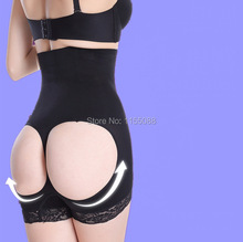 Women butt lift shaper plus size boyshort butt enhancer panty booty lifter with tummy control underwear panty