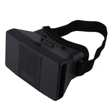 """Buy Google Cardboard Virtual Reality VR 3D Glasses 3D Movies Games TV Glasses Head Strap 4-6"""" Android iOS Mobile Phones for $8.83 in AliExpress store"""