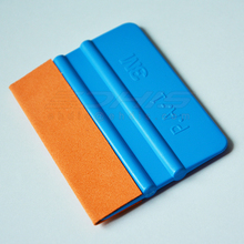 Free shipping 3M squeegee with suede edge ,wet use low frication without scratch  film squeegee scraper for carwet(China (Mainland))