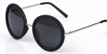 New Retro Round Sunglasses Women Brand Designer Vintage Sun Glasses Women Coating Sunglass Oculos De Sol Gafas lunette de soleil(China (Mainland))