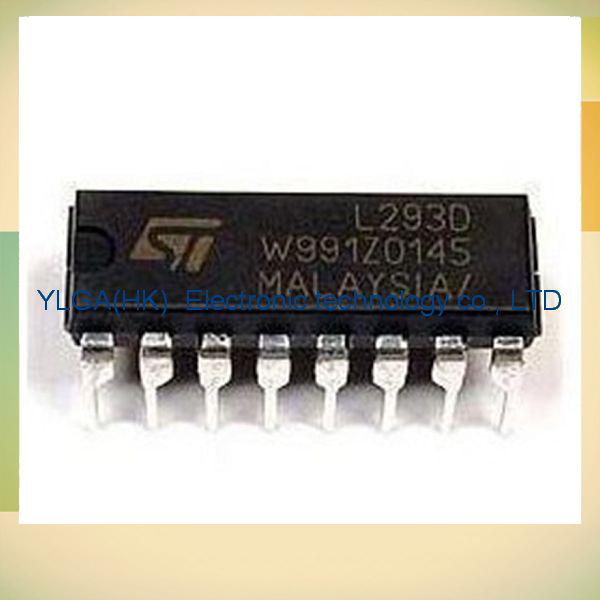 L293D L293N L293B CE L298 L297 motor driver chip original DIP DIP(China (Mainland))