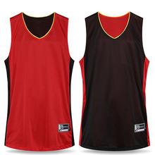 Men Newest font b Reversible b font font b Basketball b font BoyTraining Set Shirt Short