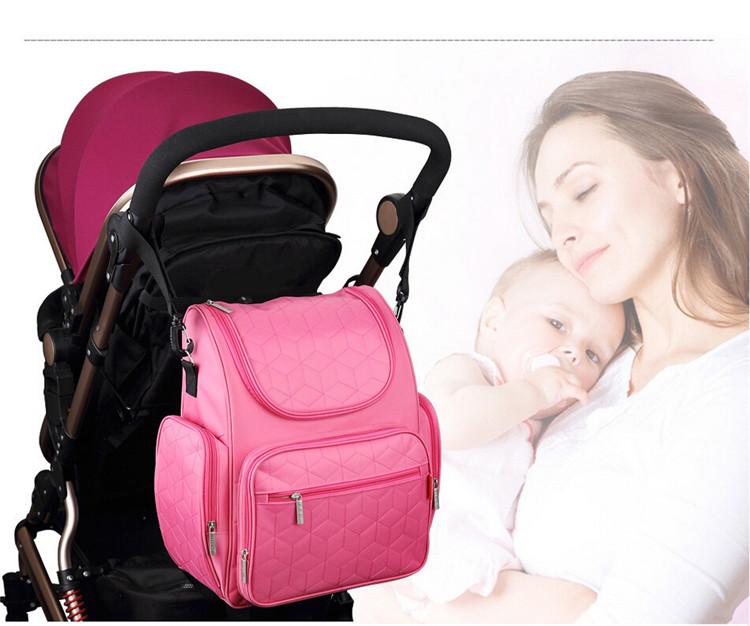 Пеленки младенца пеленки рюкзак Мумия сумки материнства мешок мода мать большие емкость можно повесить на коляску сумки бесплатная доставка