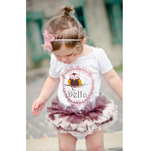 Baby Romper Clothes Girls One Piece Cotton Baby Tutu Dress T-shirts Size 0-3Y(China (Mainland))