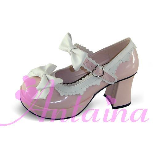 Фотография Princess lolita shoes custom  lolita cos punk high-heeled laciness strawberry princess shoes 9955