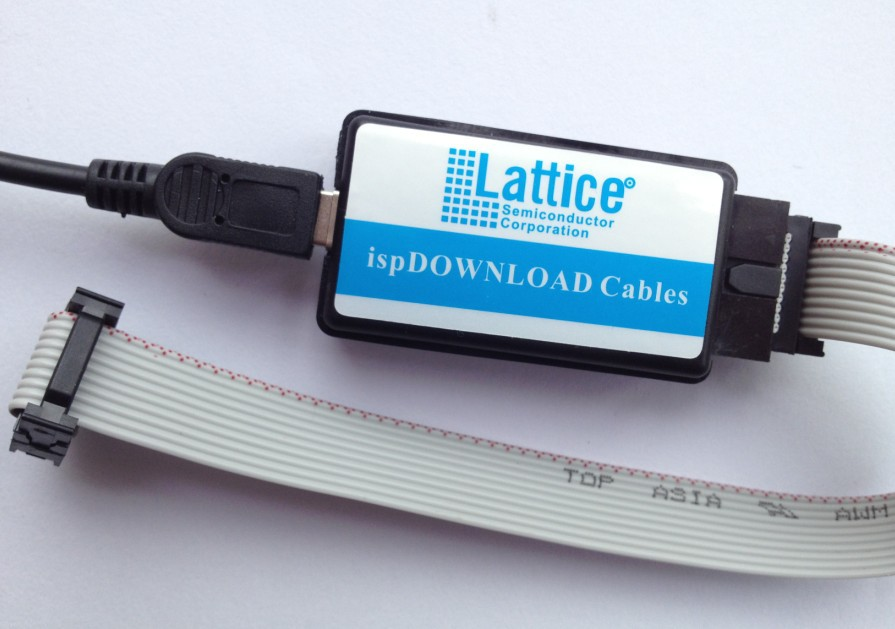 Lattice CPLD / FPGA USB downloader ispDOWNLOAD Cables Enterprise Edition! Free shipping(China (Mainland))
