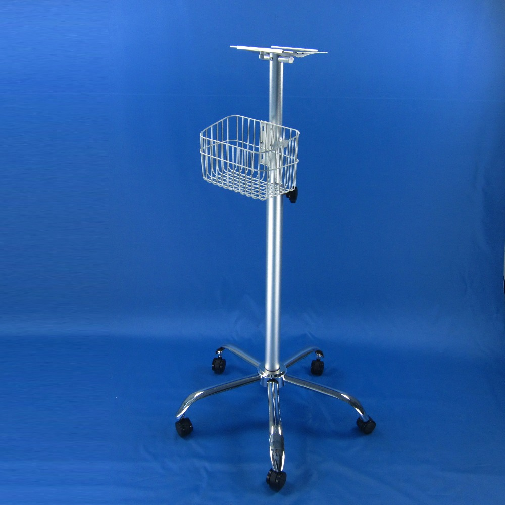 Medical trolley rollling stand manule lifter post<br><br>Aliexpress
