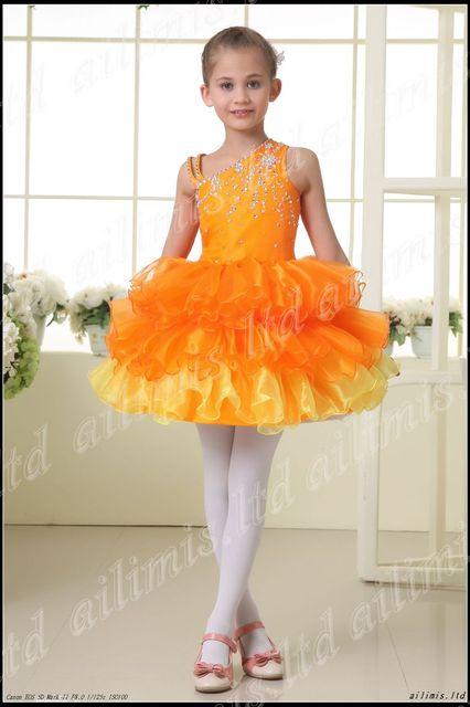 New Arrival Wonderful Hot Halter Style Flower Girl Pageant Wedding Dress Custom  Size 2.4.6.8.10.12.14.16.
