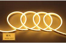 1 м-10 м светодиодный неоновый свет Flex Силиконовые неоновая подсветка для салона автомобиля DC12V Водонепроницаемый Мягкий DIY внутреннее и нару...(China)