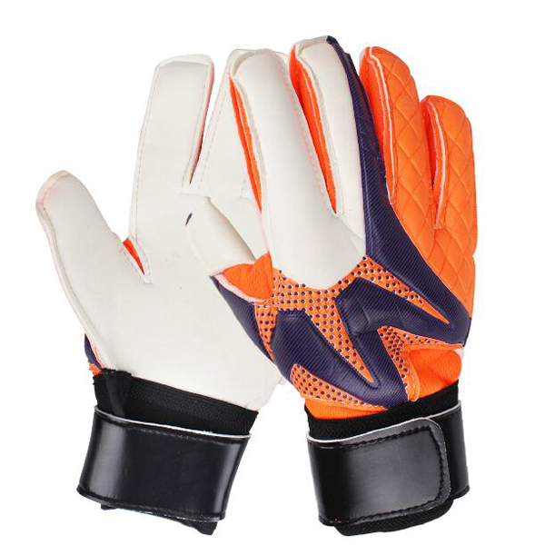 Free shipping 2015 skid brand factory selling skid High quality Reusch 's top goalkeeper gloves football gloves-latex plam 018(China (Mainland))