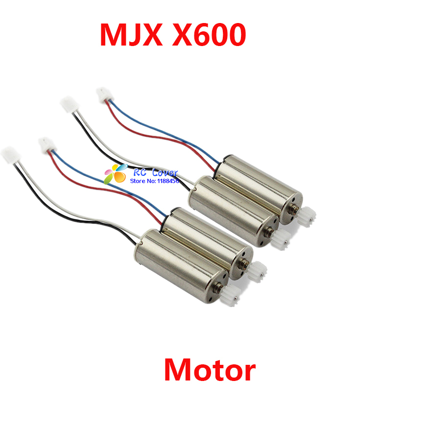 4pcs Original MJX X600 Motor Clockwise and Anti-clockwise motor  For MJX X600 RC Quadcopter Drone spare parts<br><br>Aliexpress