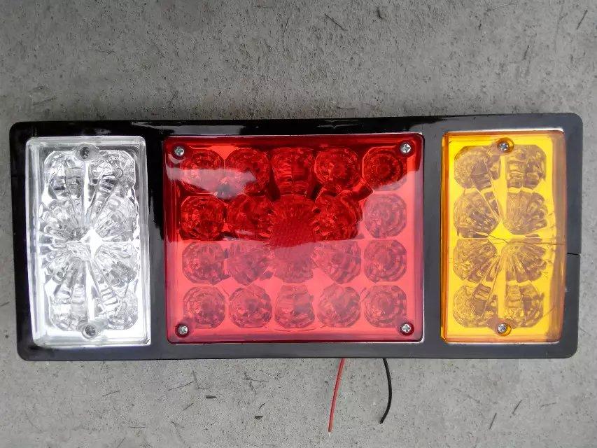 Новый 2 шт. 12 в 36 из светодиодов задние фонари грузовик фонаря авто ван лампы задний фонарь трейлер стоп индикатор трейлер лампы грузовиков огни