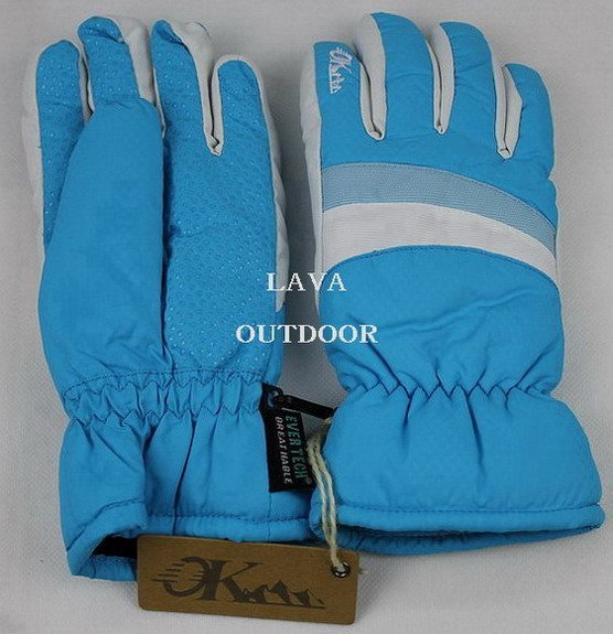 Winter Sports Gloves (Blue)- Women's Ski Gloves, Lady Winter Gloves,Low Price,Water-Proof,Breathable,Drop Shipping,Free Shipping