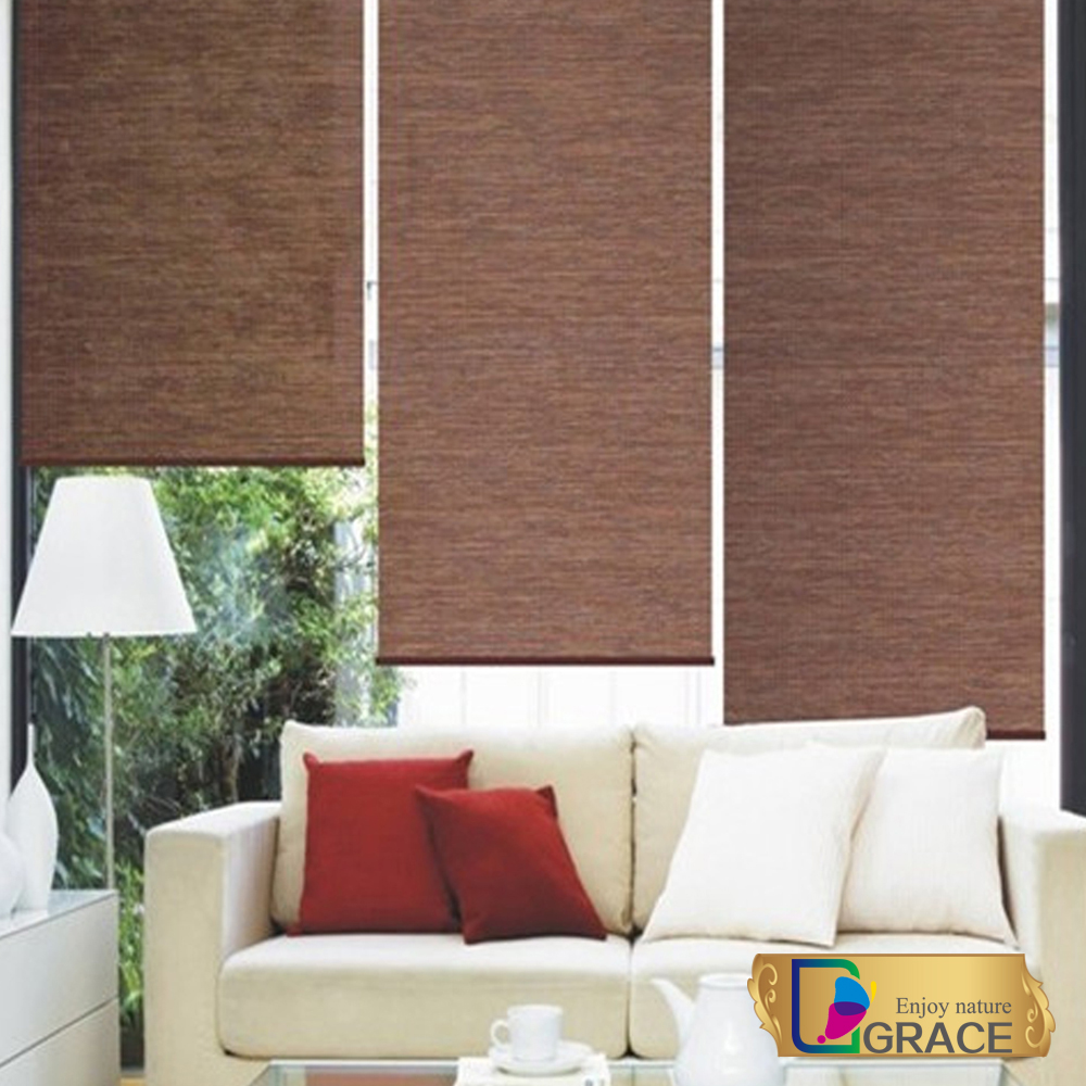 2015 latest Chinese 100% polyester custom fabric blinds screen curtains and blinds(China (Mainland))