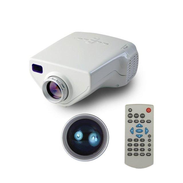 Портативные мультимедийные пико из светодиодов проектор с USB SD VGA HDMI AV домашнего кинотеатра projetor поддержка 1080 P Proyectores видеоигры