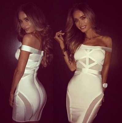 Free shipping wholesale Black and White Fashion Strapless Tight Celebrity Cocktail party Bandage Dress (H0727)Одежда и ак�е��уары<br><br><br>Aliexpress