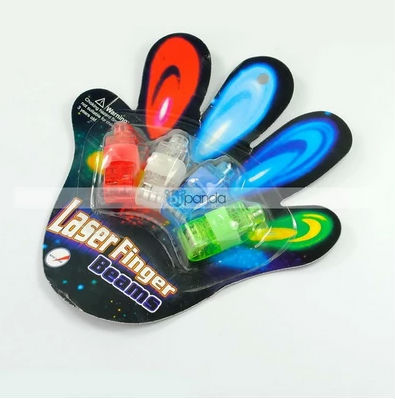 Multi-Color LED Party Light Finger Laser Beam Torch Ring(China (Mainland))