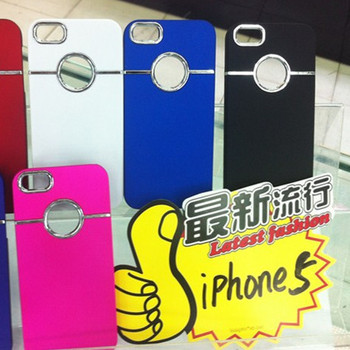 100pcs/lot**electroplate Hard Case For iPhone 5 5G