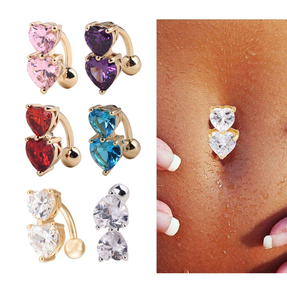 how to make belly button jewelry