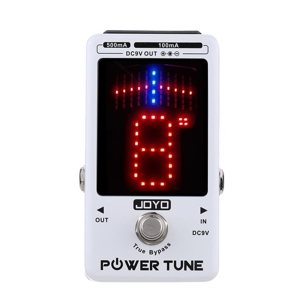 JOYO Power Tune True Bypass Electric Guitar Bass Tuner & 8 Port Multi-power Power Supply Supplier Effect(China (Mainland))
