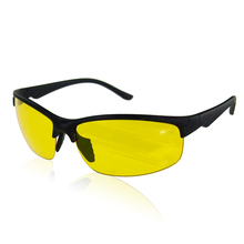 New arrival Plastic + Resin HD High Definition Night Vision Glasses Driving Yellow Lens Classic Aviator UV400